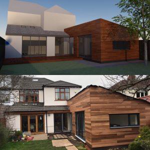 Rear extension L19 Premier Building Solutions