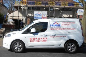 New Ford vehicle for South Liverpool Builders