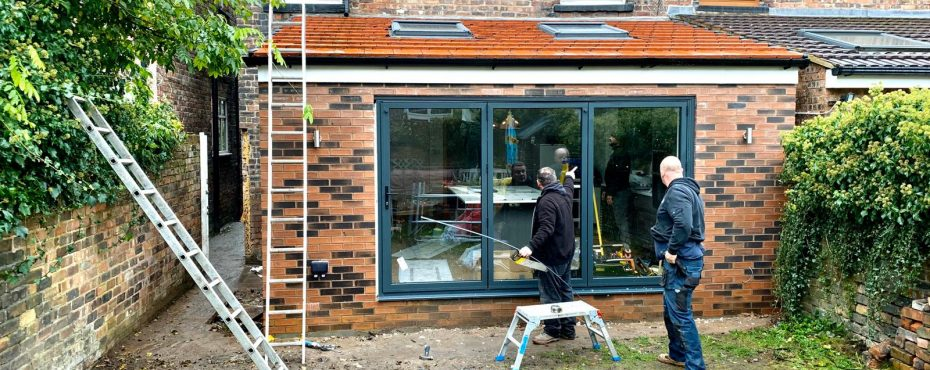 New open Plan kitchen extension Liverpool