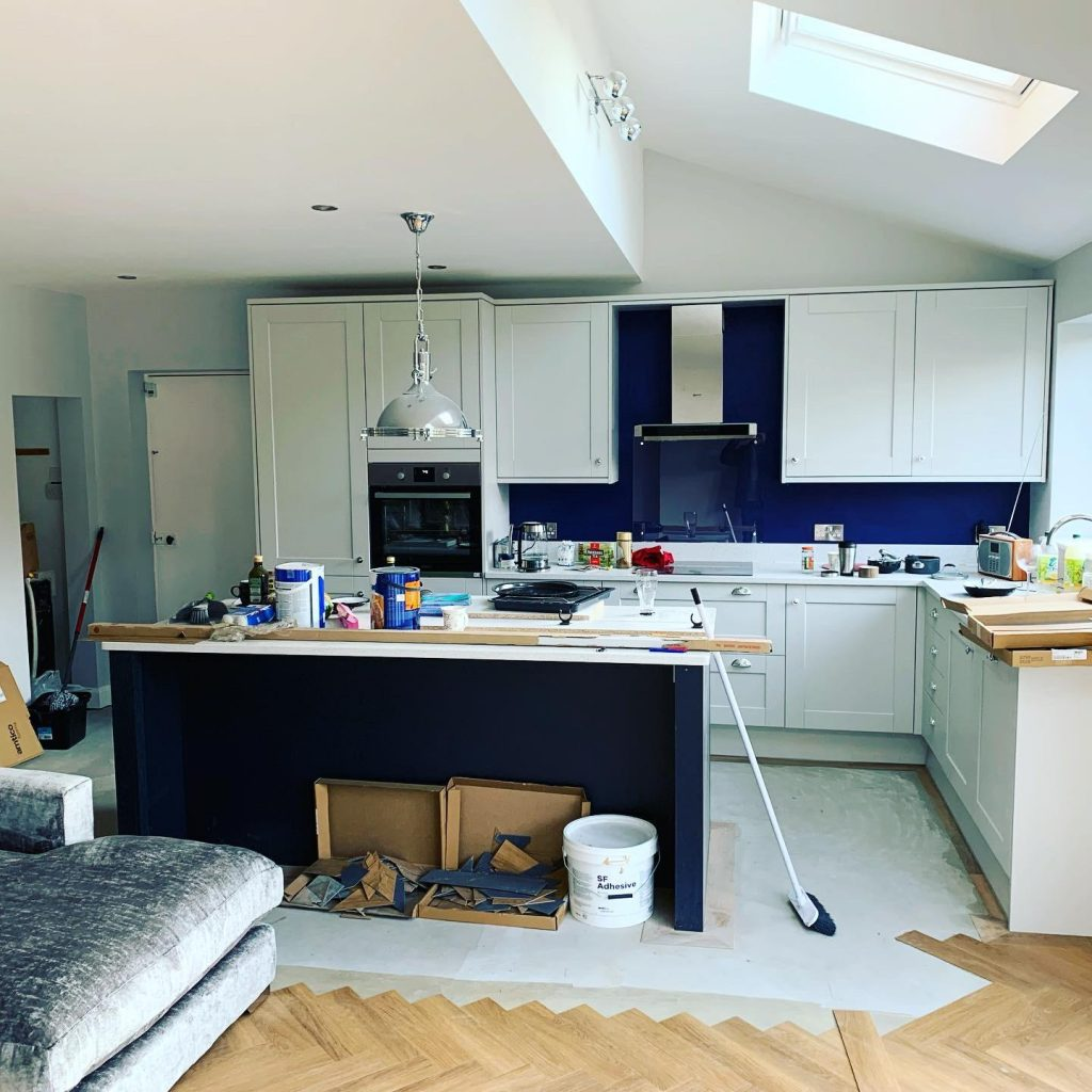 Open Plan Kitchen Diner Extension, Liverpool