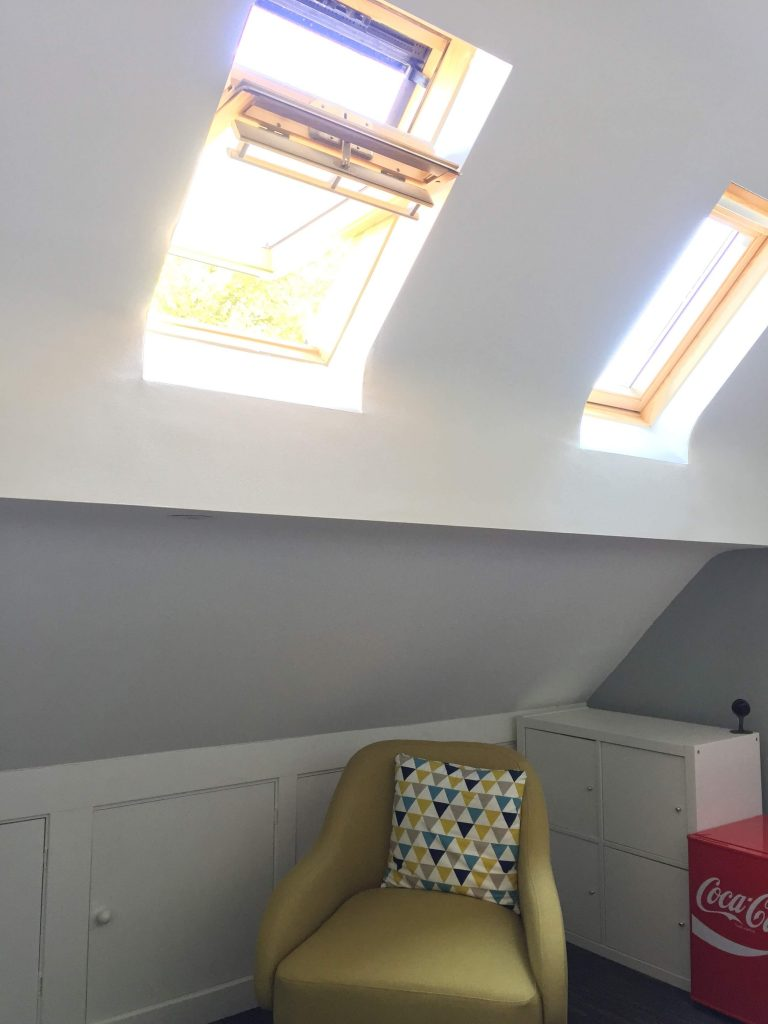 Loft Converted to Office Liverpool